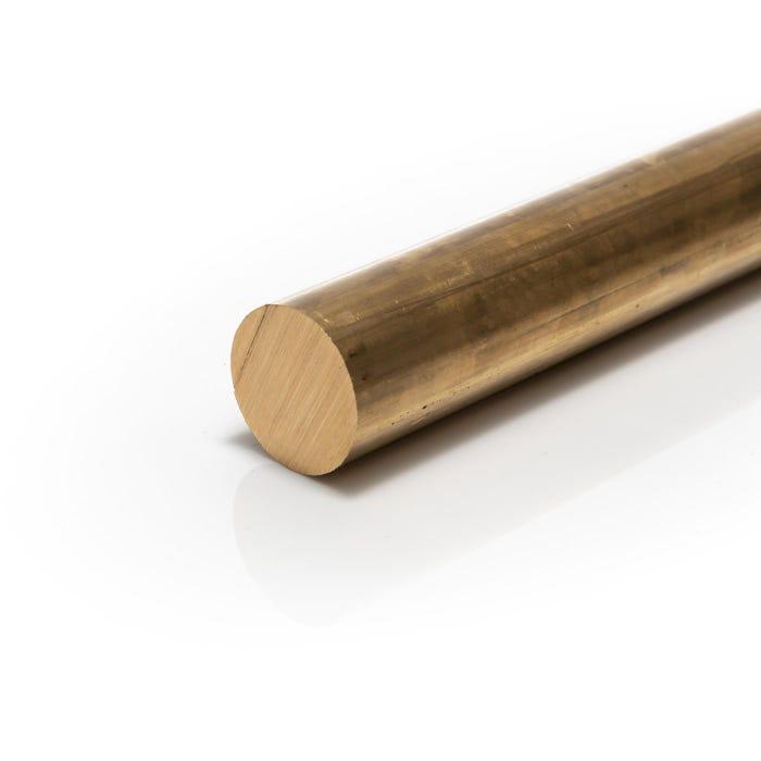 Brass Round Bar 14.28mm (9/16