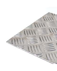 Aluminium 5 Bar Tread Plate 6mm thick