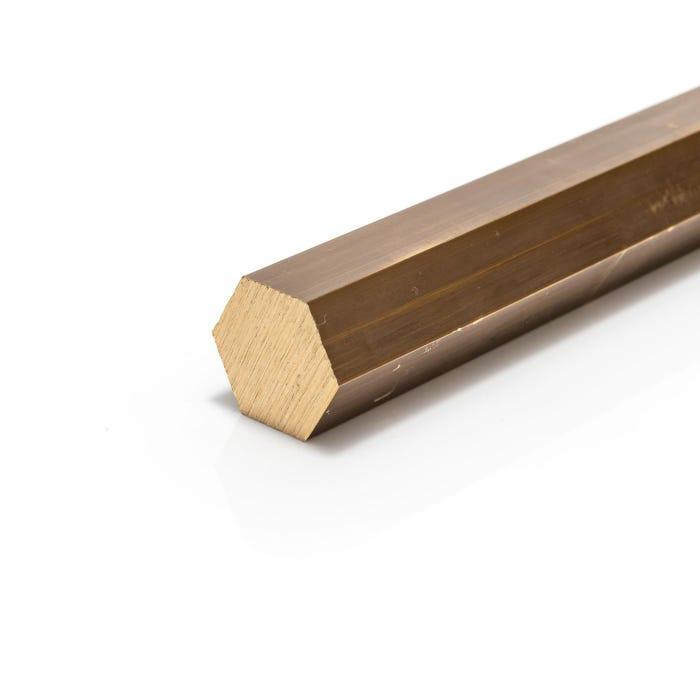 Brass Hexagon Bar 13.33mm (0.525