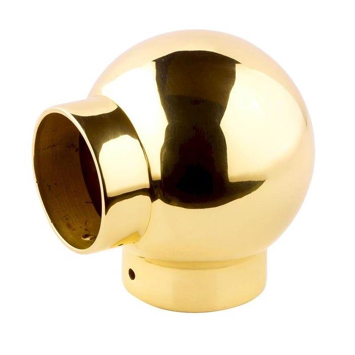 51mm Brass Ball Fittings Brass Elbow 51mm