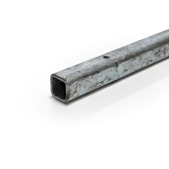 25mm x 25mm x 2mm Mild Steel Galvanised Box Section
