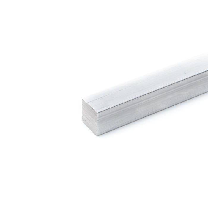 Aluminium Square Bar 6.35mm (1/4