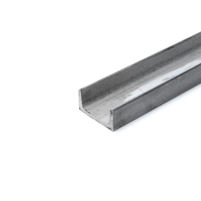 Stainless Steel Channel 20 x 10 x 3 mm