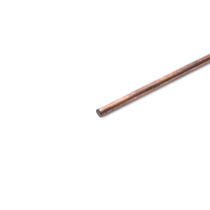 Copper Round Rod C101 6.35mm (1/4