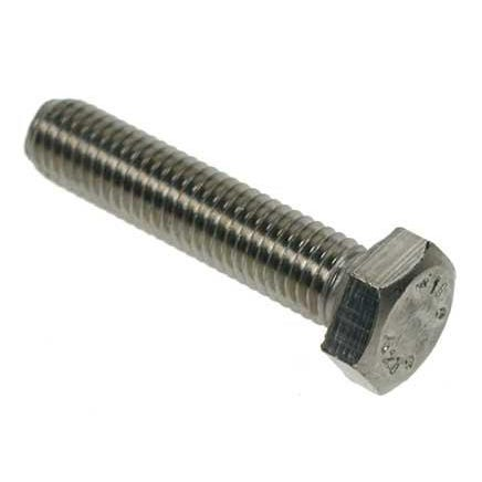 M20 A2 Stainless Steel Hex Bolts M20 x 100