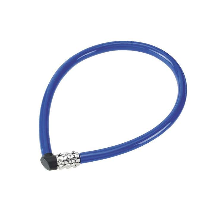 1100/55 Combination Coloured Cable Lock 55cm x 6mm