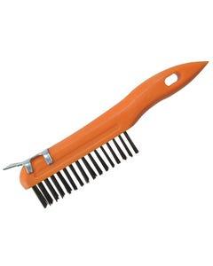 Plastic Wire Brush & Scraper