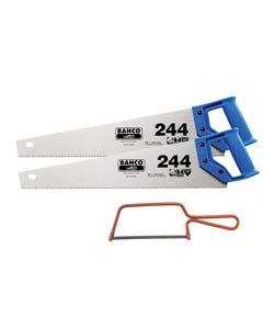 2 x 244 Hardpoint Handsaw 500mm (20in) & 1 x 239 Junior Saw 150mm (6in)
