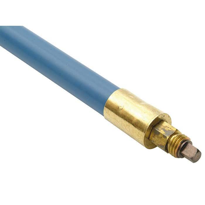 1606 Lockfast Blue Polypropylene Rod 1in x 3ft