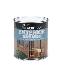 Exterior Varnish UV77 Clear Satin 250ml
