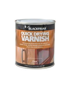 Quick Drying Duratough Interior Varnish Clear Gloss 250ml