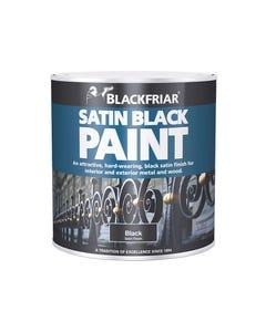 Satin Black Paint 500ml