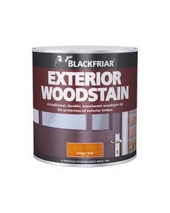 Traditional Exterior Woodstain Rich Mahogany 500ml