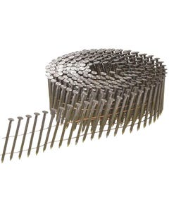 Bright Ring Shank Coil Nails 2.1 x 35mm Pack of 24 500