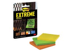 Post-it® Extreme Notes 76 x 76mm (Pack 3)