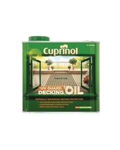 UV Guard Decking Oil Natural Oak 2.5 Litre