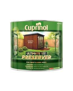 Ultimate Garden Wood Preserver Autumn Brown 1 Litre