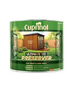 Ultimate Garden Wood Preserver Golden Cedar 1 Litre