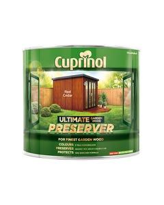 Ultimate Garden Wood Preserver Red Cedar 1 Litre