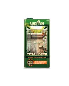 Total Deck Restore & Oil Wood Clear 5 Litre