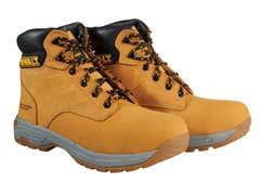 SBP Carbon Nubuck Safety Hiker Wheat Boots UK 12 Euro 46