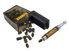 Extreme Impact Torsion Bits PZ2 25mm + Magnetic Holder Display 21 Piece
