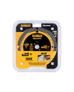 Extreme PCD Fibre Cement Saw Blade 165 x 20mm x 4T