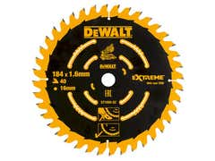 Cordless Mitre Saw Blade For DCS365 184 x 16mm x 40T