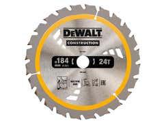Cordless Construction Trim Saw Blade 184 x 20mm x 24T