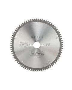 Series 40 Circular Saw Blade 250 x 30mm x 80T TCG/Neg