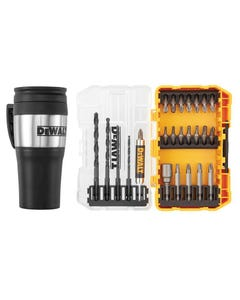 DT70706 Drill Drive Set, 25 Piece + Mug Display of 4