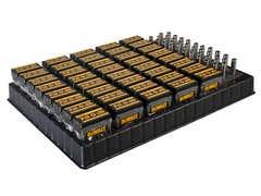 Display with 40 x 25 Piece PZ2 Screwdriver Bit Set & 40 Magnetic Bit Holders