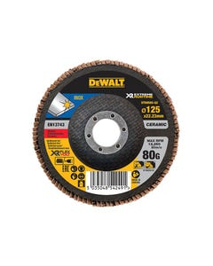 FlexVolt XR Flap Disc 125mm 80G