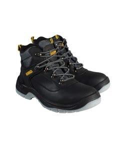 Laser Safety Hiker Black Boots UK 11 Euro 45