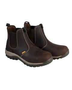Radial Safety Brown Boots UK 10 Euro 44