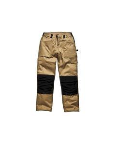 GDT290 Trousers Khaki & Black Waist 38in Leg 33in