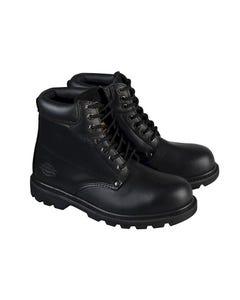 Cleveland Black Super Safety Boots UK 12 Euro 47
