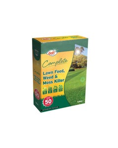 Complete Lawn Feed, Weed & Moss Killer 1.6kg