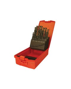 A190 No.18 Imperial HSS Drill Set of 29 1/16 - 1/2in x 64ths
