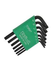 TORX Key Short Arm Set of 7 (TX10-TX40)