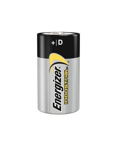 D Cell Industrial Batteries Pack of 12