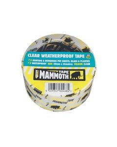 Clear Weatherproof Tape 50mm x 10m