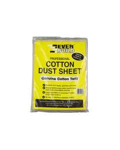 Cotton Dust Sheet 3.6 x 2.7m
