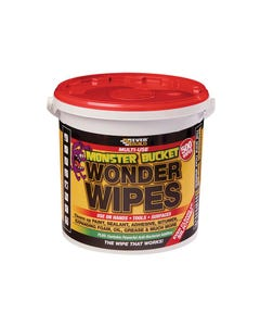Monster Wonder Wipes Tub of 500