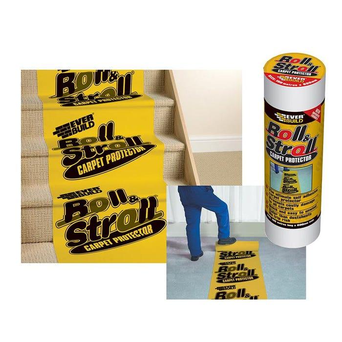 Roll & Stroll Premium Carpet Protector 600mm x 75m