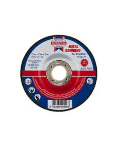 Depressed Centre Metal Grinding Disc 115 x 6.5 x 22.23mm