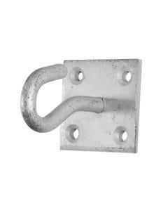 Hook On Plate - Galvanised