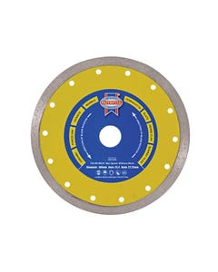 Diamond Tile Blade Continuous Rim 115 x 22.2mm