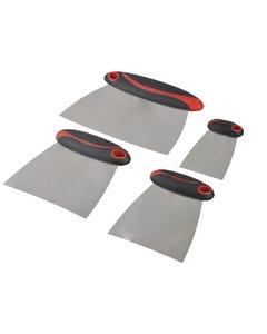 Filler & Spreader Set of 4 Stainless Steel