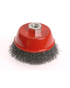 Wire Cup Brush 75mm x M14 x 2 Stainless Steel 0.30mm